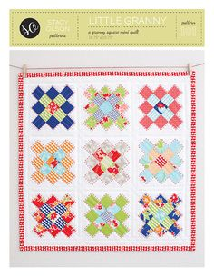 Create a beautifully traditional or vintage wall hanging with this granny square mini quilt pattern. Perfect for using up your scraps or charm