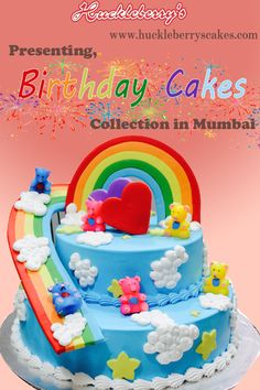 Buy Birthday Cakes Online In Mumbai From Huckleberrys We Offer Wide Range Of Delicious Various Flavors