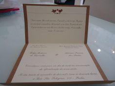 Convite de casamento casual!