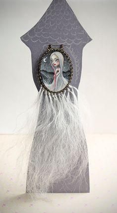 Rapunzel (OOAK Art Pendant) Necklace