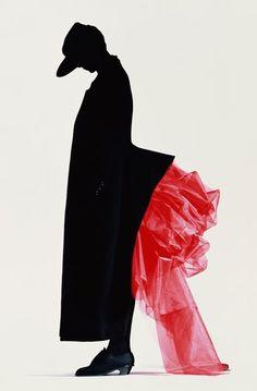 Yohji Yamamoto (Advertising by Nick Knight, 1986)