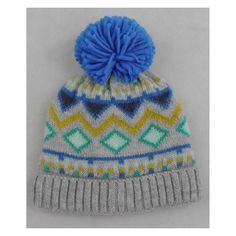 ed1831f492f Baby Boys  Knitted Fairisle Hat - Cat   Jack™ Blue 12-24M