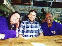 View from Barcelona!! WIU Advisors Ron Pettigrew and Michele Aurand with our own WIU student Rafael Obregon, who is completing an internship in Barcelona this semester. #RockygoesAbroad #WIU #ViewFromBarcelona