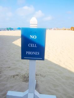 Think all places of relaxation should be cellphone free!