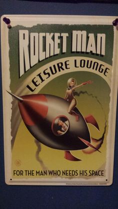 Rocket Man Leisure Lounge - For the Man Who Needs His Space