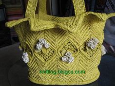 recycling plastic bags crochet bolsa