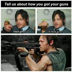 Haha I love him