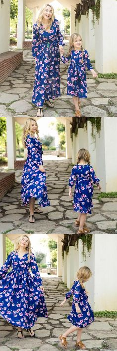 Vintage Floral Printed Long-sleeve V-neck Dress for Mom and Me $19.99 #matchingoutfit #toddles #kid #baby #momandbaby #dadandbaby #family #cute #clothing #babysuit #romper #tshirt #tee #dress #fashionoftheday #picoftheday #love #bikini #summer #outfit #deal #wholesale #patpat #mother #matchingdress #womensfashion #dresslikemommy #matchymatchy #mommy #dresses #matchyfamily #daughter #matchingoutfits #motherdaughter #mommyandme #coordinating #matching #momdaughter