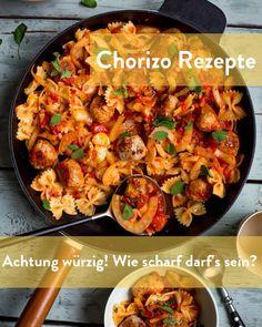 Chorizo Rezepte sorgen für mehr Schärfe Marley Spoon, Chorizo, Paella, Ethnic Recipes, Food, Food Dinners, Food Food, Recipies, Essen