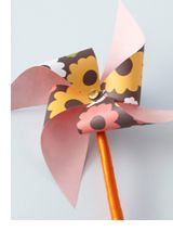 Homemade pinwheels: Use for party decor, mini ones for cupcake toppers, line the flowerbeds with a row of pinwheels, or the perimeter of the yard, arrange in a vase or mason jar...Use fun colorful papers, or paper in the graduate's colors, or the wedding's colors...