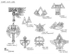Favorite Dawi Symbol? - The Main Fireplace - Bugmans Brewery - The Home for all Warhammer Dwarf Fans
