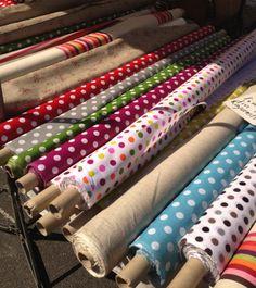 Fabrics in the markets