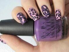 fioletowy gepard