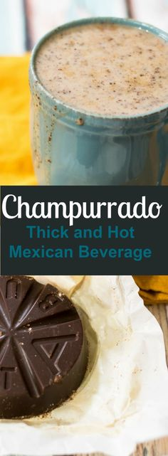 Recipe (Hot Mexican Beverage) champurrado is a delicious mexican beverage that is perfect for these colder winter months!champurrado is a delicious mexican beverage that is perfect for these colder winter months! Authentic Mexican Recipes, Mexican Food Recipes, Dinner Recipes, Authentic Mexican Hot Chocolate Recipe, Drink Recipes, Dinner Ideas, Comida Latina, Mexican Drinks, Mexican Dishes