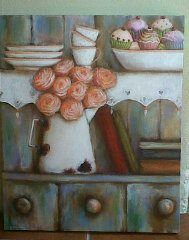 Valencia, Pencil Drawings, Colored Pencils, Bliss, Shabby Chic, Roses, Cupcakes, Crafty, Facebook