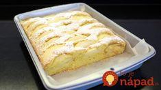 Tak to už áno! Absolútne jednoduchý ovocný koláč, ktorý si rýchlo napečiete keď vás prepadne chuť na sladké. Vanilla Cake, Sweet Recipes, Tea Time, Banana Bread, Delish, Sweet Tooth, Cheesecake, Food And Drink, Meals