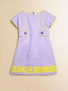 Versace  Toddler's & Little Girl's Logo Dress