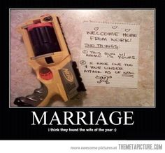 Wife of the year...one can only hope for a marriage this great