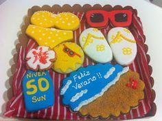 Maralon Bakery: Galletas verano, sol y playa para las seños.