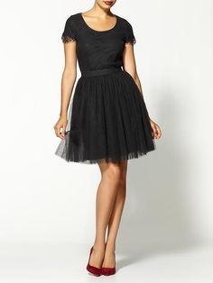a sick obsession with tulle.
