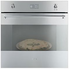 SF390XPZ: Einbaubackofen mit Pizzafunktion, Edelstahl, Energieeffizienzklasse A-20%. Schauen Sie selbst auf www.smeg.de