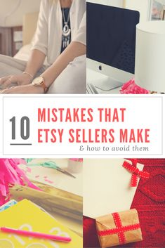 10 Mistakes Etsy Sellers Make and How to Avoid Them
