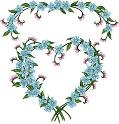 Forget Me Not Tattoo | ist2_4880272-forget-me-not-valentine-flower-heart | Flickr - Photo ...