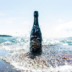 Luc Belaire Luxe Brut. Blanc de Blancs. Sparkling Wine, Pink Champagne, White Wine, Wines, Luxury, Bottle, White People, Flask