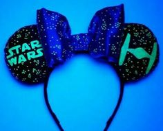 Design your own glow in the dark Star Wars Ears! 100% satisfaction guarantee, check my policies for further details! You have 6 designs to chooses