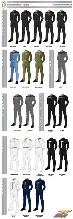 madeinjapan1988 star trek | Wolf's Shipyard :: View topic - Starfleet Uniforms Circa 2400 (UPDATED ... Star Trek Rpg, Star Wars, Star Trek Ships, Akira, Stark Trek, Star Trek Online, Star Trek Images, Star Trek Beyond, Star Trek Universe