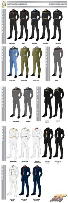 madeinjapan1988 star trek | Wolf's Shipyard :: View topic - Starfleet Uniforms Circa 2400 (UPDATED ...