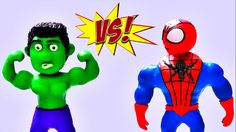 In This Superhero Prank Hulk Fights Spiderman after finding him making fun of him in the Gym. Spiderman needs a shot and then thinks he's ready to show Hulk how strong he is.  Clay Animación - Playdough Stop Motion - Superheroes - Stop Motion videos -  Play doh videos - Plastilina animación - Superheroes   Check Out Our Other Stop Motion Video  Grave Digger Monster Truck Play Doh STOP MOTION Claymation Videos  https://www.youtube.com/watch?v=BDHTMmrWY8s   Subscribe To Us…