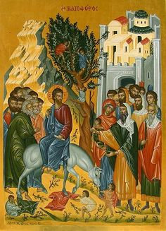 Blacks In The Bible, Pictures Of Jesus Christ, Life Of Christ, Russian Icons, Byzantine Icons, Palm Sunday, Orthodox Icons, Sacred Art, Bible Art