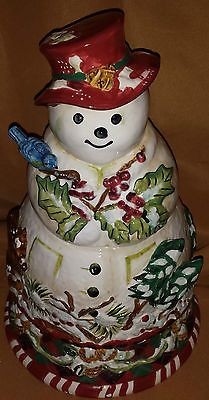 ... Christmas Cookie Jars on Pinterest | Cookie jars, Ceramics and Snowman