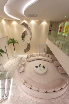 Luxury Homes - Interior Design - Home Furnishings Home Room Design, Dream Home Design, Modern House Design, Home Interior Design, Living Room Designs, Design Bedroom, Luxury Interior, Living Rooms, Mansion Interior