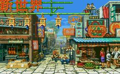 Favorite backgrounds in 2-D Fighters? - Page 3 - NeoGAF