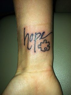 all you need is HOPE! But with a turtle instead of a puzzle piece