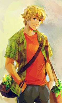 Will Solace, Son of Apollo - Rick Riordan - Viria Percy Jackson Fan Art, Percy Jackson Wallpaper, Percy Jackson Characters, Percy Jackson Books, Percy Jackson Fandom, Viria Percy Jackson, Percy Jackson Official Art, Apollo Percy Jackson, Will Solace