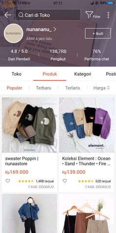 Best Online Clothing Stores, Online Shopping Sites, Online Shopping Clothes, Online Shop Baju, Aesthetic Shop, Casual Hijab Outfit, Fashion Outfits, Womens Fashion, Teen Girl Fashion
