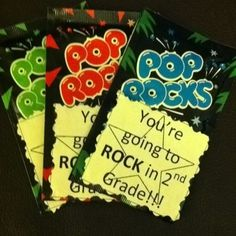 28 Pun-Tastic Teacher Gifts  I'm thinking I really wanna go with a rock star theme for my classroom...