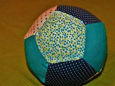 Moja Bawionka: Piłka tekstylna z resztek