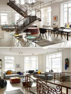 I will probably never live in a space like this, but I can dream