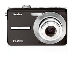 Kodak Easyshare M863 8.2 MP Digital Camera with 3xOptical Zoom (Black)