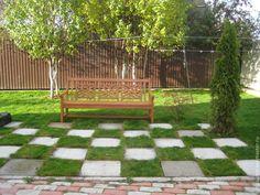 Купить Скамейка садовая - коричневый, скамейка, скамейка садовая, сад, дача, мебель из дерева