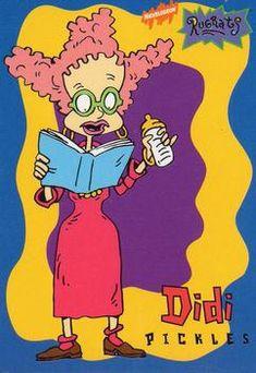 1997 Tempo Rugrats Non-Sport - Gallery Disney Phone Wallpaper, Cartoon Wallpaper, Book Wallpaper, Old School Cartoons, 90s Cartoons, Classic Cartoon Characters, Classic Cartoons, Rugrats Costume, Pregnant Halloween
