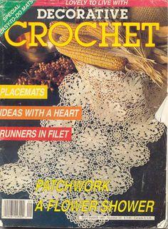 Decorative Crochet Magazines 17 - Ольга Широцкая - Picasa Webalbumok