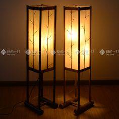Rustic living room floor lamp restaurant lamp japanese style living room lamps US $249.42