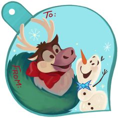 Add a Dash of Magic to Your Gifts with Disney Holiday Gift Tags