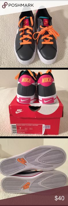 Womens Sneakers Womens Nike Classic leather Sneakers. New, can come with the box. Authentic. Nike Shoes Athletic Shoes