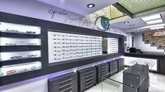 Douloufakis Optical Store by Lefteris Tsikandilakis, Heraklion – Greece » Retail Design Blog